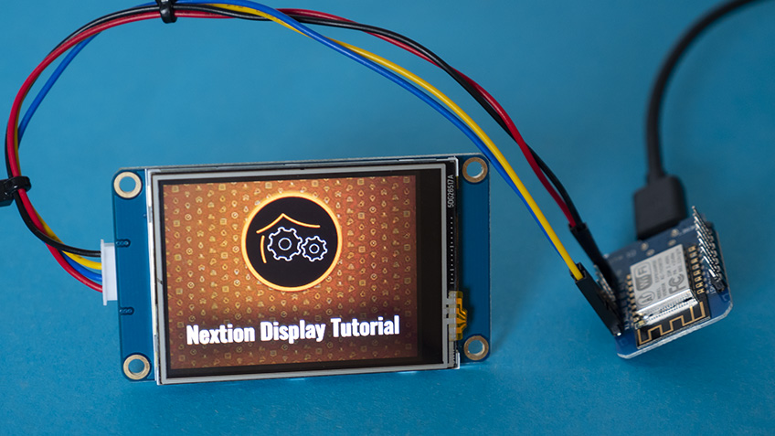 Nextion Display - Teil 5 - Direkt am Raspberry Pi nutzen